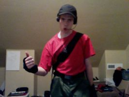 TF2 - Scout Cosplay Test 03 by Jovey4