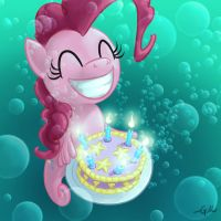 Seapony Pinkie Pie by GiantMosquito