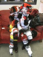 Finished Cats Costumes by Distraction-Number-4