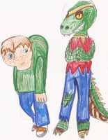 MH: Hunch and Toby by Soraply11