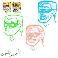 Captain obvious Concept art by DonKrow