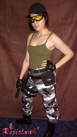 Jill Valentine REmake Army outfit II by Rejiclad