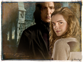 Severus and Hermione by SeverusSnapesAngel