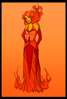 Flame Princess by Marina-Shads