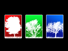 Trees Of A Color by Jake155