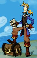Mighty Pirate by AndrewDickman