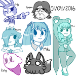 Stream Doodles! 04/01/2016 by DaDigitalMastah