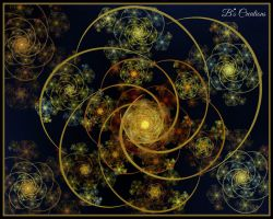 Galactic Cluster by WestOz64