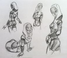 sketches Tali (92) by spaceMAXmarine