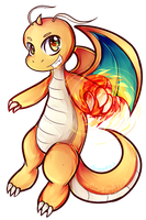 Dragonite used Fire Punch! by DragonA7X