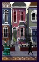 The Victorian Street by McGillustrator