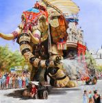 The sultan's elephant (Royal de Luxe) by veracauwenberghs