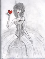 Tim Burton Girl by ColorMyAlphabet