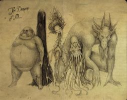 The Demons Of Me by MarkoTheSketchGuy