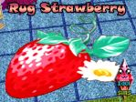 Rug Strawberry by RainboWxMikA