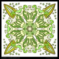Thursday Thrill Mandala IV by Quaddles-Roost