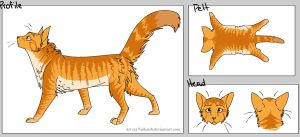 Pumpkin, Create-A-Cat version by Silver-Wings1000