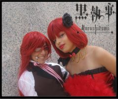 Grell and Madame Red CloseUp by BleuLilo
