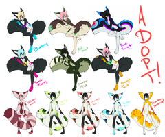 Tailmouth Adopts by Wally-Burger