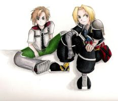 ed and al elric cosplay by zen1990