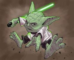 'Yoda' by Ragelion by rogue-rpz