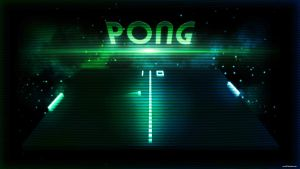Wallpaper - PONG by romus91