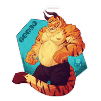 Badge Commission for werelion2003 by VetroW