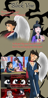 Phoenix and Maya - Black Vow by sonicgirl313