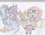 L.O.S.E as dogs by vanazza