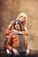 Ymir and Christa by Millenia666