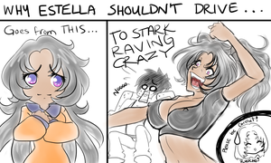 No Driving for Estella by MamaGizzy