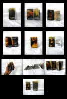 The Mona Lisa One Page Book by Bezmo