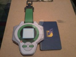 Henry's D-Power Digivice PaperCraft by SuperVegeta71290