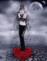 heart of roses by Flore-stock