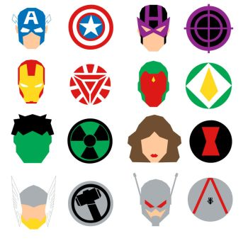The Avengers Icons by mattmagargee