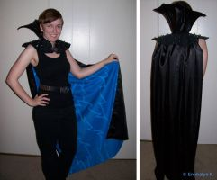 Megamind's Cape -Cosplay WIP- by Emmalyn