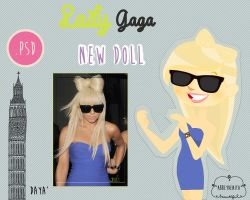 Lady Gaga Doll 3 by AbbeyDenith
