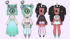 [outfit set] - BlissfullLove by hello-planet-chan