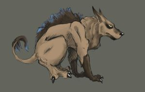 Boar...Lupine...Bird thing... by mec-canic
