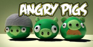 Angry Pigs 3d by dannieburst