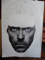 Gregory House WIP 3 by Blacleria