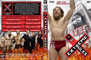 WWE Extreme Rules 2014 DVD Cover V2 by Chirantha