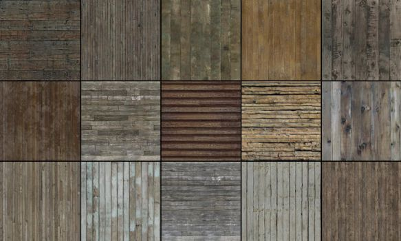 Wood Textures by Akinuri