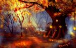 The witches hideout speedpaint by AmandaRamsey