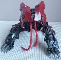 Transformer: Predacon SludgeFlare (Beast Mode) by Barrelex