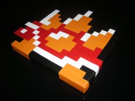 Spiny Pixel Painting by ShampooTeacher