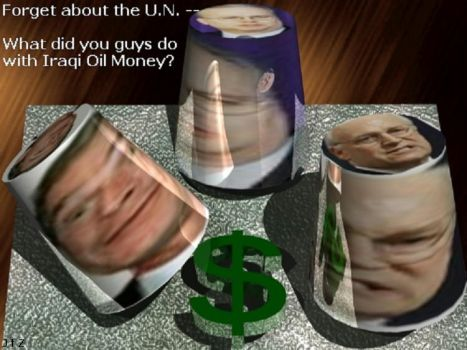 Game for the U.S. oil men by MorphineDreams