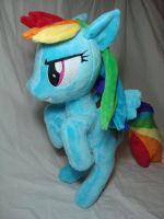 Standing Dash plush by PlanetPlush