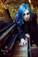 Blue Haired Doll_2 by AngeliqueDeSange
