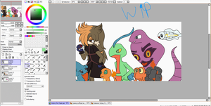 Victory Fire WIP by Jelly-Cupcake